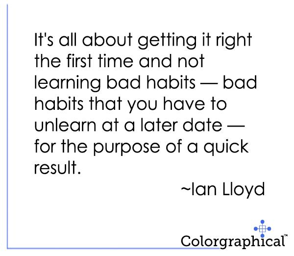 Color Quotes 1 - Ian lloyd