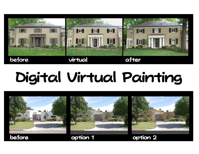 digital color renderings