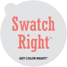 Swatch Right Paint Sample Decals