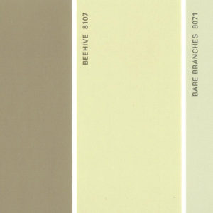 Martha Stewart Paint 5-Color Palette Card #18