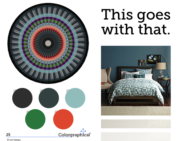 This Goes with That Color Scheme Benjamin Moore Paint  No. 25