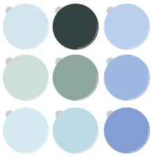 Haint Blue Paint Formulas