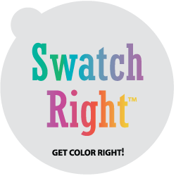 Swatch Right™ Paint Sample Decals