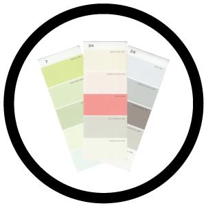 Martha Stewart 5-Color Palette Cards