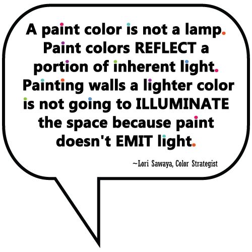 quote from Lori Sawaya, Color Expert