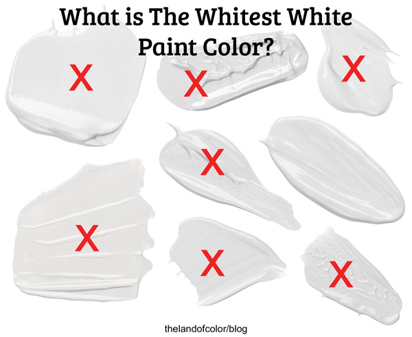 What is the Whitest White Paint Color Blog Post