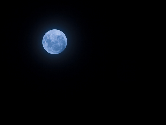 Blue Moon Meaning And Symbolism Of Blue Moon Thelandofcolor