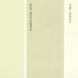 Martha Stewart Paint 5-Color Palette Card #07