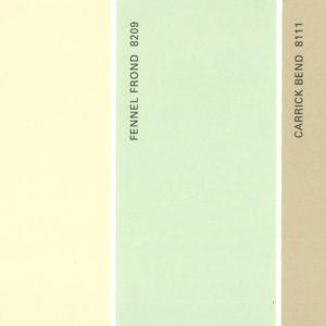 Martha Stewart Paint 5-Color Palette Card #09