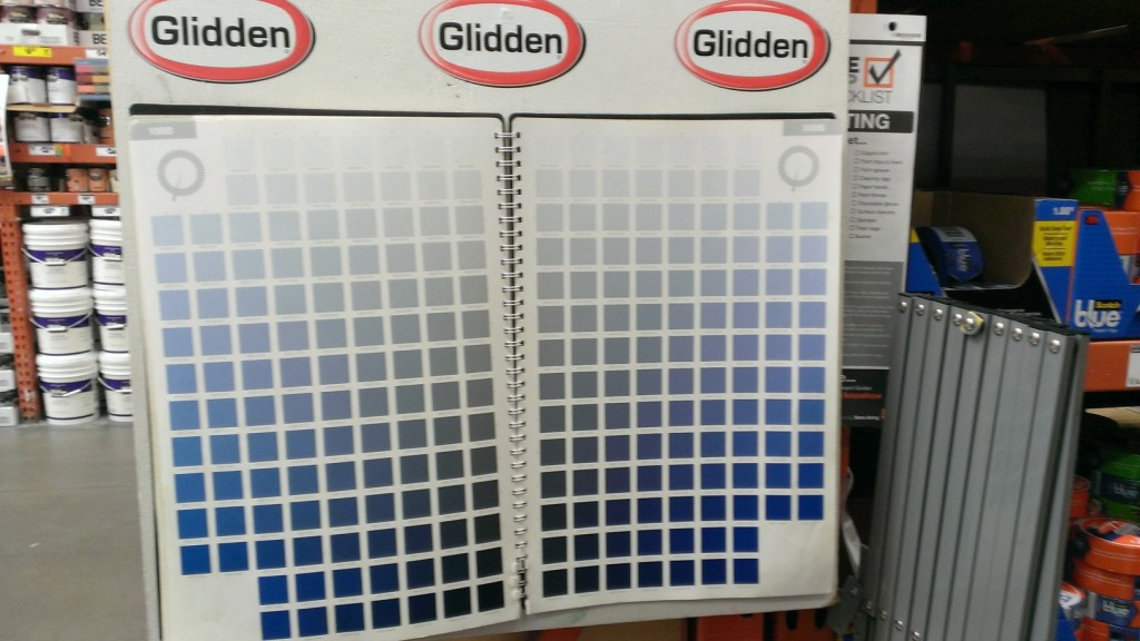 The Master Palette Big Book Home Depot