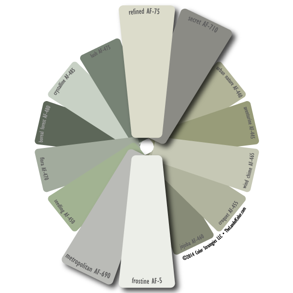 benjamin moore affinity whites and grays