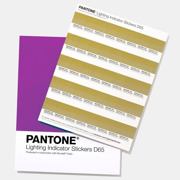 Pantone Light Indicator Stickers D65