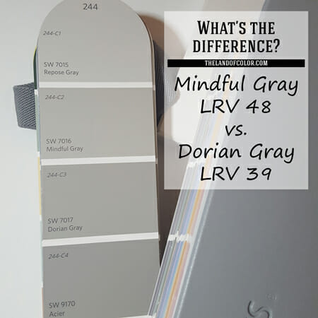 Mindful Gray Sw 7016 And Dorian Gray Sw 7017 How Are