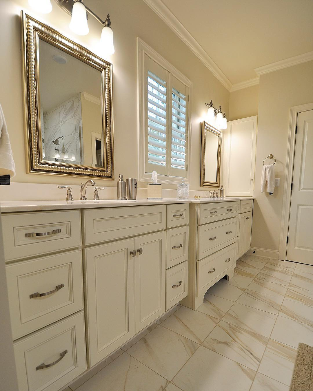 Cream-Off-White-Medallion-Cabinets