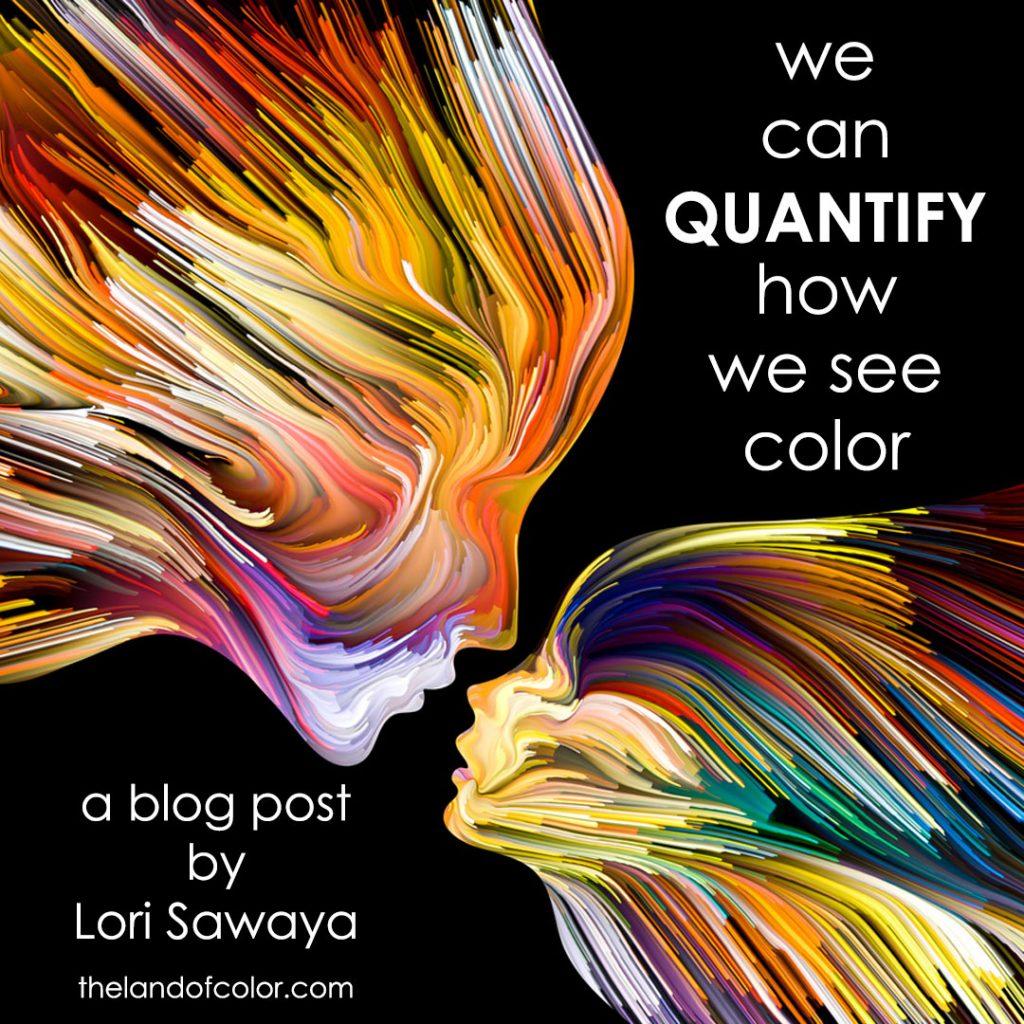 How do you quantify color