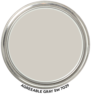 Paint Blob Agreeable Gray SW 7029